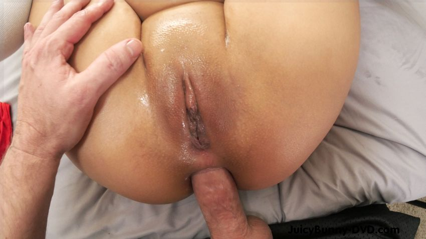 image First time anal creampie two perspectives